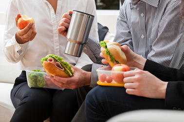 Bad Foods For Work Lunches - Blog - Sparkle Dental - food-work-lunch